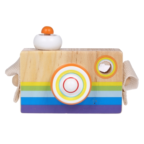 Wooden Camera Toys For Baby Kids Room Decoration Photography Prop Child Christmas Birthday Gifts