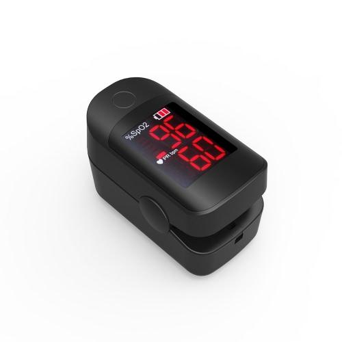 Genaue LED Fingerspitze Pulsoximeter Blut Sauerstoff Sättigungsmonitor FDA & CE & ROHS & TUV Approved