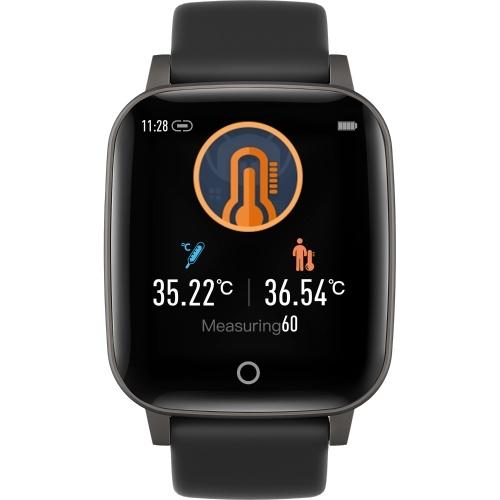 Body Temperature Monitoring Watch Intelligent Touching 1.3Inch Screen Fitness Tracker Bracelet