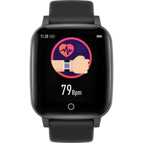体温監視時計インテリジェント感動1.3インチ画面フィットネストラッカーブレスレット
