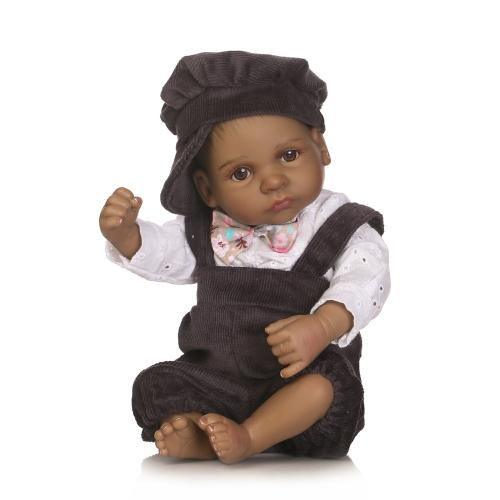 Реалитичная новорожденная кукла для младенцев Полная силиконовая спящая кукла для ванны Lifelike 10inch 25cm Girl