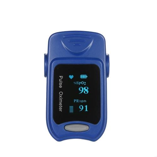 Exacta OLED Display Oxímetro de pulso de la punta del dedo SpO2 Monitor de oxígeno para uso doméstico de la salud