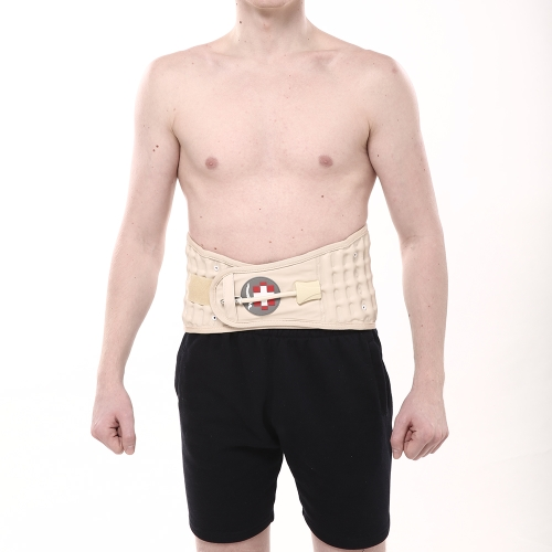 Carevas Back Decompression Belt поясничная поддержка Brace Spinal Air Traction Device Back Pain Relief CE & FDA Approved