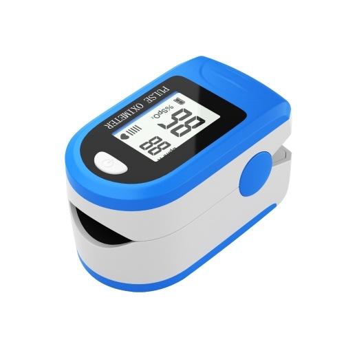 Fingertip Pulse Oximeter Blood Oxygen Saturation  SpO2  & PR Monitor 8S Quick Measure,Pulse Rate Measurement Meter for Home Sports Travel