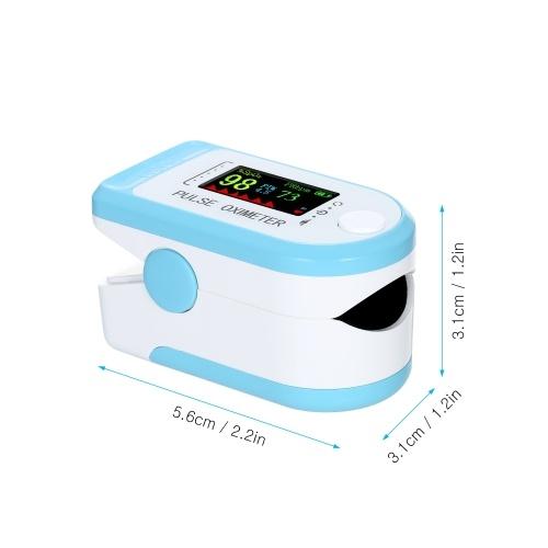 Беспроводной сенсорный пульсоксиметр APP Хранение данных 8-секундная функция автоматического отключения сигнала тревоги Насыщение кислородом крови и определение частоты пульса с помощью шнурка Портативный монитор SpO2 и PR для домашних путешествий