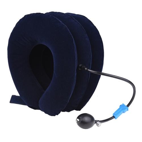 Надувное устройство для вытяжения шейного отдела шеи при защемлении нерва