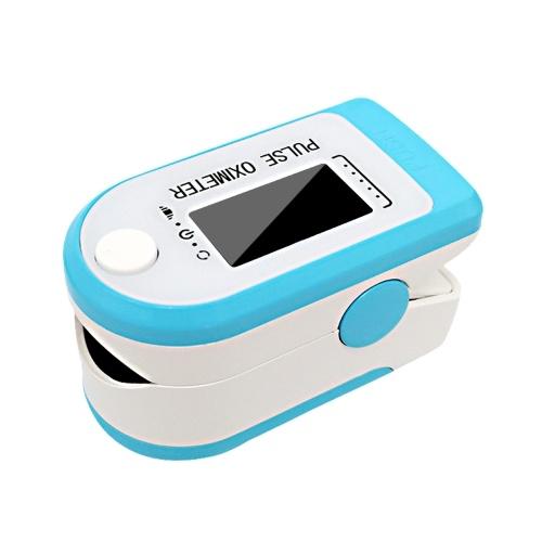 4 in 1 OLED Finger Pulse Oximeter Fingertip Pulse Oxygen Meter Blood Oxygen Saturation Monitor