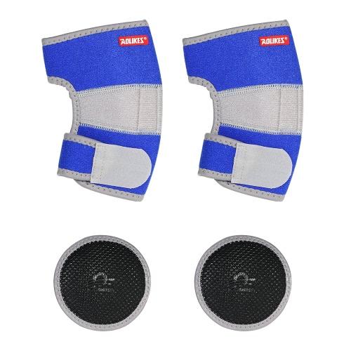 Регулируемая локоть для детей с локотью Локоть поддержки Губка Pads Sleeve Sport Protector Crashproof Anti-Slip для детей Мальчики Девушки Спортивные танцы Black