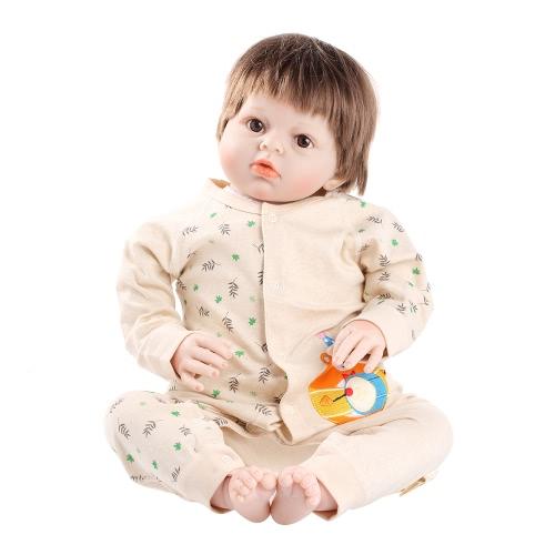 Baby Romper Unisex 100% Cotton Babysuit Baby Play Playsuit Rabbit Print С длинным рукавом Весна Лето Осень для новорожденного Младенческая девочка-мальчишка Бурундук 6-9M