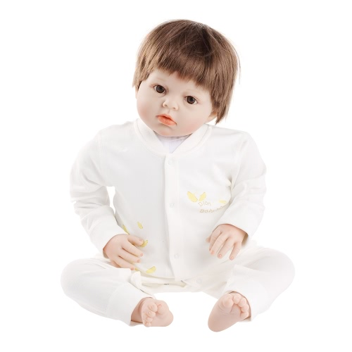 Baby Romper Unisex 100% Cotton Baby Bodysuit Clothes Playsuit Long Sleeve Pants Spring Summer Autumn For Newborn Infant Baby Girl Boy Yellow 0-3M