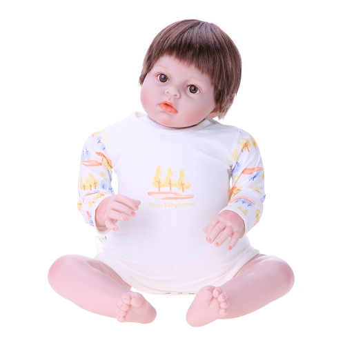 Baby Romper Unisex 100% Cotton Baby Clothes Bodysuit Playsuit Long Sleeve Summer For Newborn Infant Baby Girl Boy Blue 3-6M