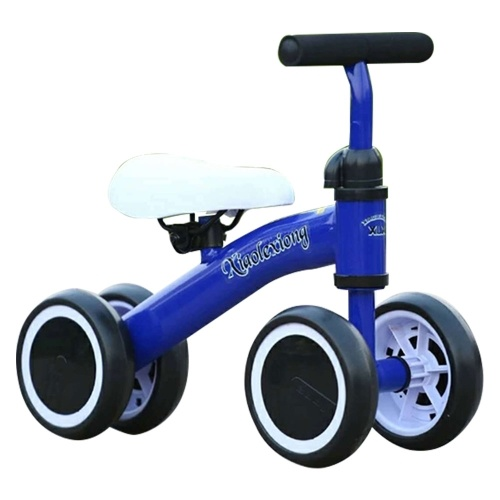 4 Wheels No Pedals Steel Frame Baby Ride-on Toys