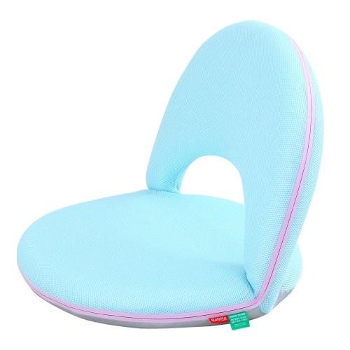 Мягкий напольный стул Многоугольник с регулируемой спинкой Мягкий пенопласт