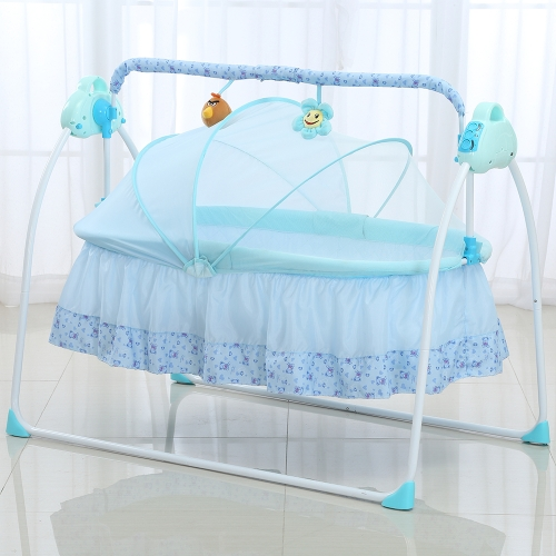 Electric Baby Bassinet Remote controller Play Music Provide Various Rocking Speeds
