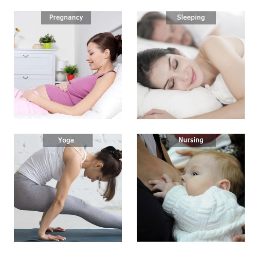 Pregnancy Bra Cotton Wireless Maternity Nursing Breastfeeding Sleep Bras Yellow M(34/75)
