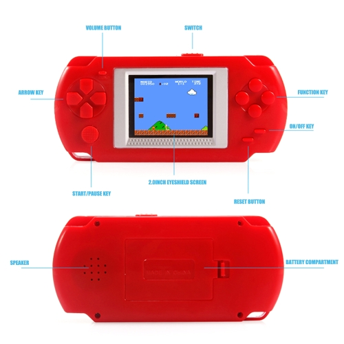 Image of 2.0 inch Game Console Built-in Free 268 Games
