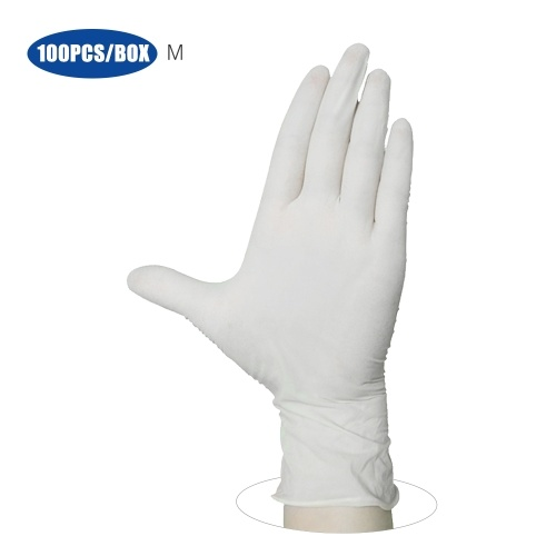 100PCS/Box Disposable PVC Gloves Powder Free Medical Gloves