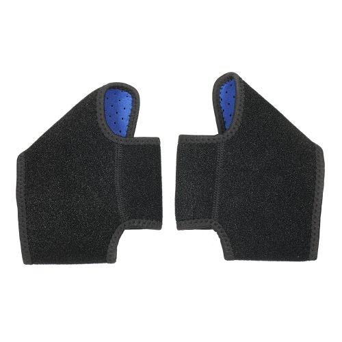 Регулируемая опорная стойка для лодыжки для младенцев Защитные подушечки для ног Защита для ног Anti-Slip Breathable для мальчиков Девушки Спортивные танцы Blue S