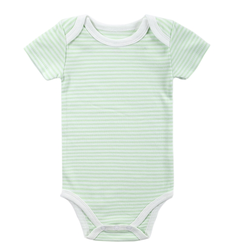 Baby Rompers Bodysuit 100% Cotton Short Sleeve Unisex Newborn Baby Clothing 0-3Months