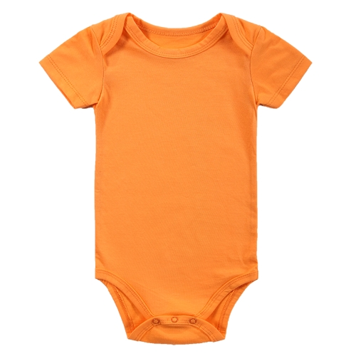Baby Rompers Bodysuit 100% Хлопок с коротким рукавом Unisex Newborn Baby Clothing 0-3Month