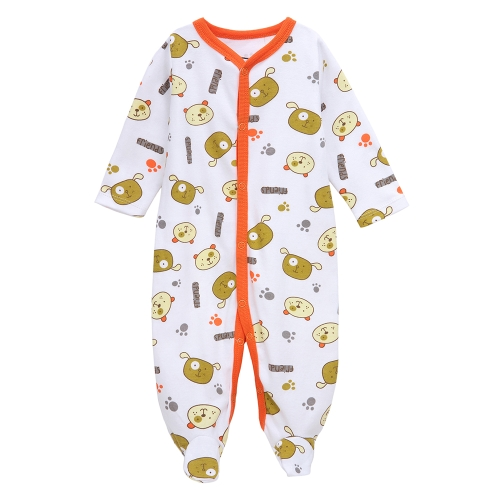 Baby Coveralls Rompers Set 100% Cotton Jumpsuit Footsies Clothing For Newborn Baby Infant Boy 0-3Month