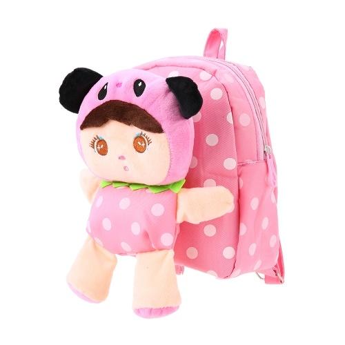 Детские школьные сумки Нейлон Симпатичные куртки Путешествия Рюкзак Дети Детский сад Школьные сумки Розовый