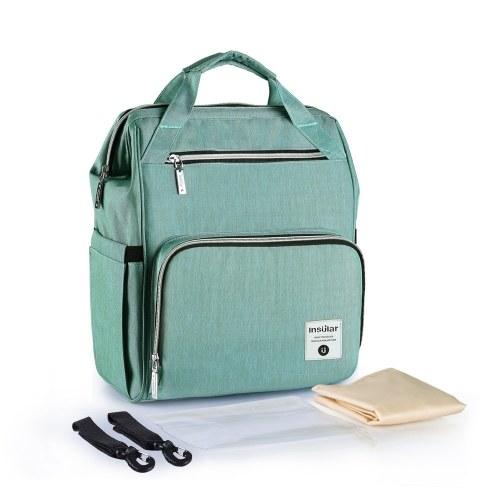 Diaper Bag Backpack Multi-Function Waterproof Large Capacity Nappy Bags