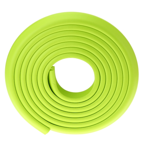 5M / 16.4ft Baby Bumper Strip Safety Edge Protection Bar Cushion Furniture Table with 3M Sticker