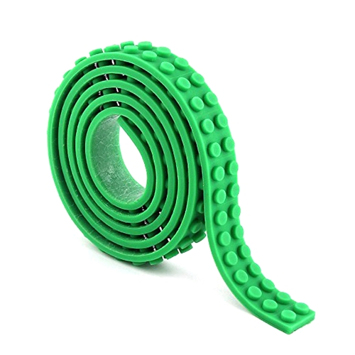 Reusable Silicone Building Blocks Tape for Lego Lover Kids Gift Portable No Harm to Children