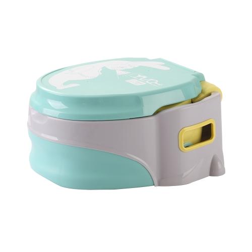 3 в 1 Многофункциональный детский туалет Potty Training Seat Unisex Round Potty Ring Kid Stepstool Pink