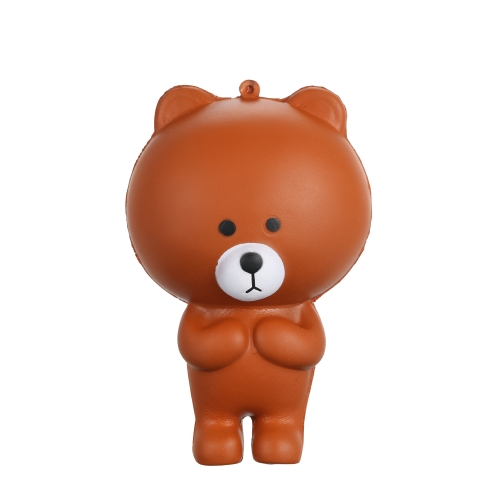 Cartoon Bear Squishy Jumbo Soft Slow Rising Stretchy Squeeze Funny Kids Toy