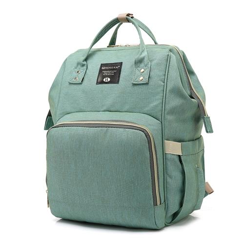 Mode Mummy Mutterschaft Wickeltasche Marke Große Kapazität Baby Tasche Reiserucksack Designer Nursing Bag für Baby Care