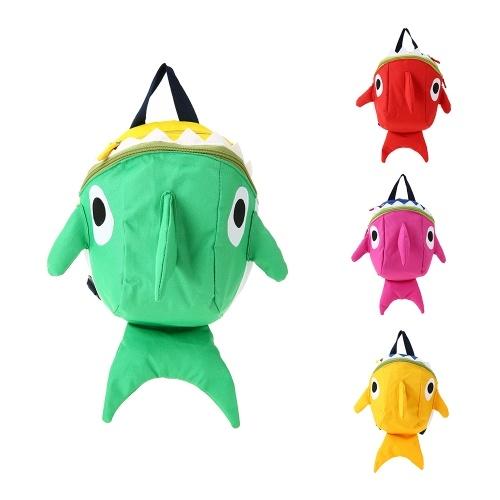 Детские школьные сумки Нейлон Симпатичные мультфильмы Sharp Travel Backpack Дети Детский сад Школьные сумки Зеленый