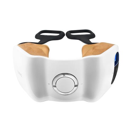 Breo Protable Shiatsu Neck Massager с термочувствительным электрическим плечевым массажем 4 ролика для облегчения боли / жесткости / боль в мышцах FDA и CE Approved