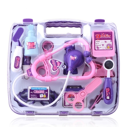 Children Role Play Medical Doctor Plaiying Set Carry Case Kids Gift