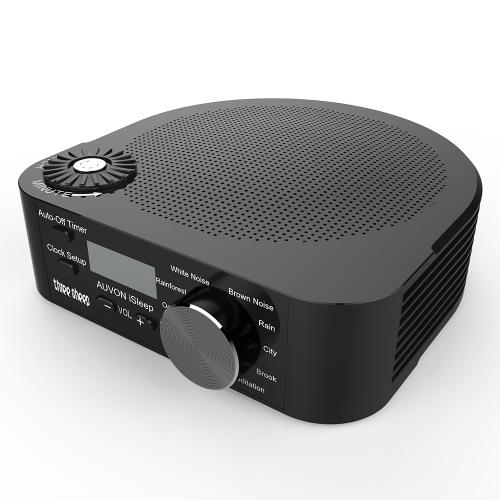 Безвоздушный сон звуковой машины Белый шум с 10 успокаивающими звуками Таймер