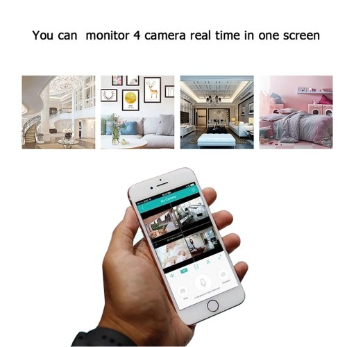 Home Video Camera 720P HD WiFi Wireless APP Control IR Night Vision Camcorder for Home Security Baby older Monitor E.U