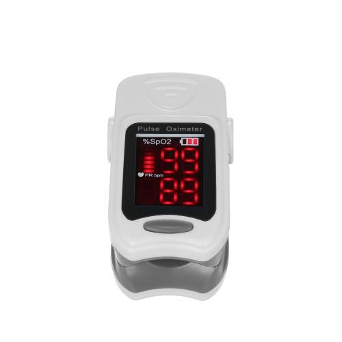 Точный светодиодный пульсоксиметр пульсоксиметра Кислородный датчик насыщения кислородом SPO2 / детектор импульсной скорости с помощью ремешка FDA / CE / ROHS