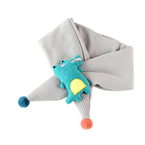 Écharpe colorée en coton bébé