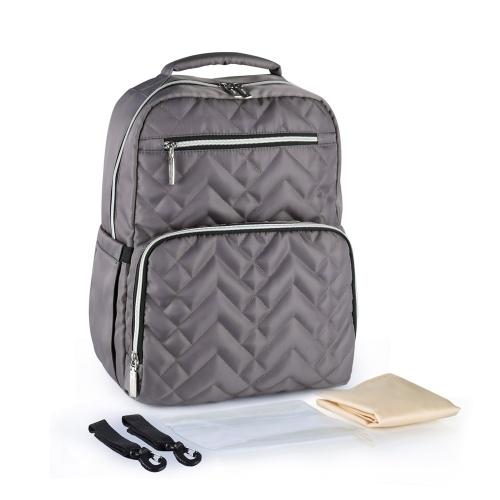 Diaper Bag Backpack With Stroller Strap