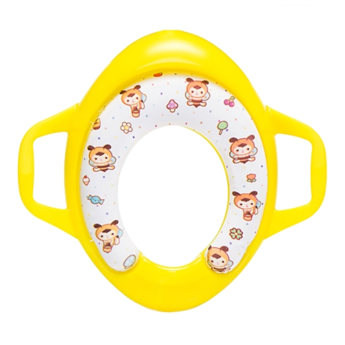 Kids Potty Ring Training Toilet Seat for Boys and Girls For Round And Oval Toilets Blue