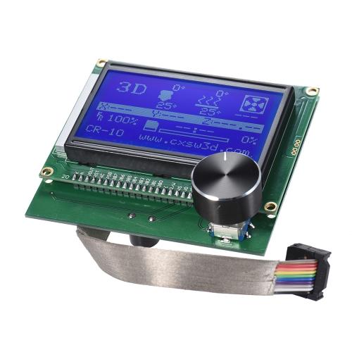 2004 Visor do LCD Screen Controller com cabo para Reprap Ramps 1.4 Kit de impressora 3D acessório para criatividade CR-10