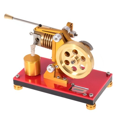 Flame Licker Stirling Engine Modello Mini Hot Air Stirling Engine Generator Modello Scientific Experiment Education Toy con Tool Kit