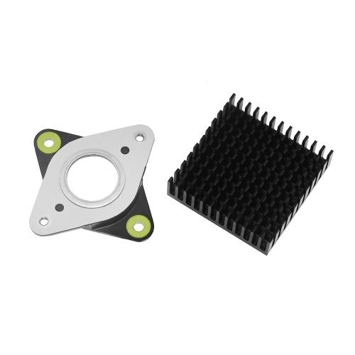 Aibecy 3D-Drucker Vibrationsdämpfer-Stoßdämpfer aus Metall und Gummi