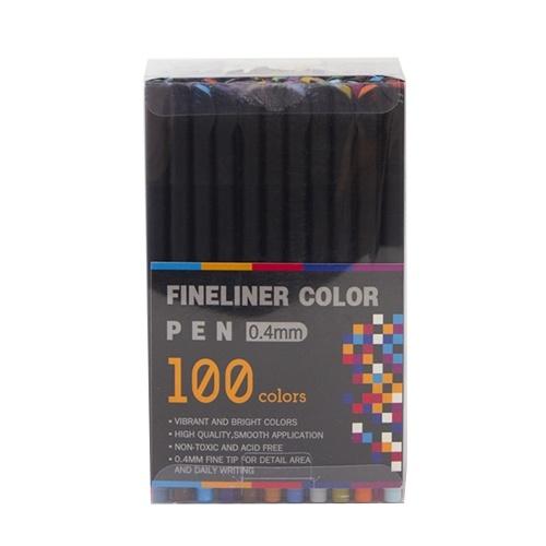 Colori brillanti Fineliner Penna a colori 0,4 mm Pennarello colorato a punta fine Set per journaling Note Presa Scrittura Disegno Schizzo Disegni da colorare Pianificatore Scuola Forniture d'arte
