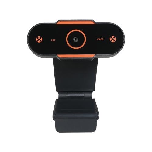 1080P HD Компьютерная камера Видеоконференц-камера Веб-камера Разрешение 2K Автофокус H.264 Сжатие видео