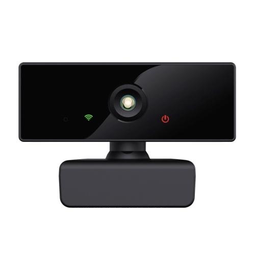 1080P HD-Computerkamera Streaming-Webcam 2 Megapixel 110 ° Weitwinkel-Autofokus mit Mikrofon Kompatibel mit Windows Android Mac für Videotreffen Online-Unterricht Live-Webcasting