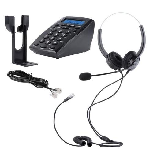 Проводной телефон с панелью набора номера Телефон центра обработки вызовов