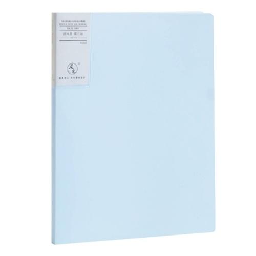 Präsentationsbuch im Format A4 Display Book Document Organizer Wasserdicht mit 20-Blatt-Schutzfolie für die Business Office School