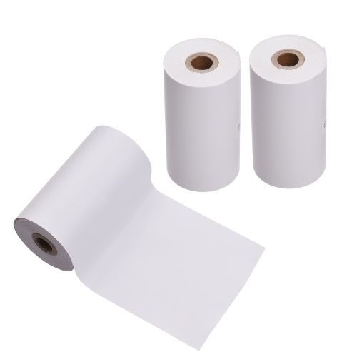 PAPERANG 3 Rolls 57x30mm Thermal Paper Roll Receipt Paper BPA-Free Long-Lasting 10 Years for PAPERANG P1(S)/P2(S) Pocket Thermal Printer